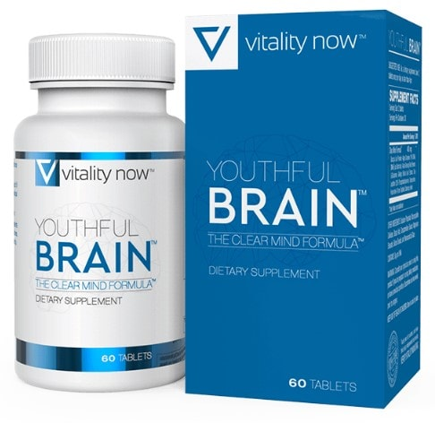 Vitality Now Youthful Brain Supplement